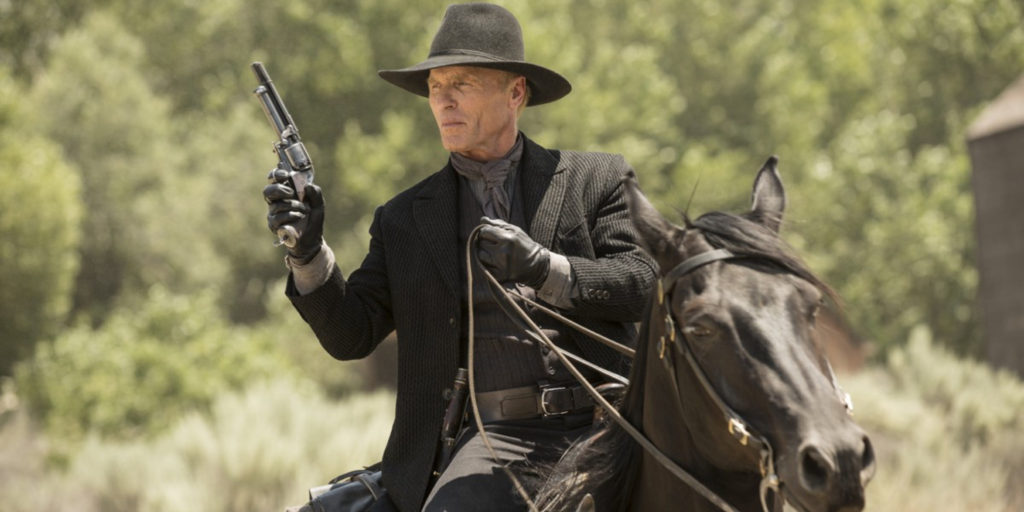 Ed Harris, as the 'Man in black'.